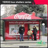 Abri extérieur d'arrêt de bus de meubles de rue à vendre