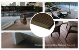La madera de alta calidad compuesto de plástico (WPC) pavimentos para exteriores