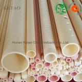 C799 Al2O3 глинозема керамические трубы для печи обработки
