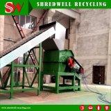 屑鉄のリサイクルのための使用されたバレルまたはドラムまたは鋼鉄ストリップのハンマー・ミル