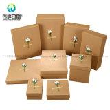 Sucrerie de papier d'emballage de rectangle de Homenade pour des faveurs de noce de cadres