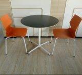 Neuer Entwurfs-runder Stab-Tisch-Stuhl