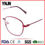 Ynjn赤いフレームの女性の方法円の接眼レンズフレーム(YJ-J6988)