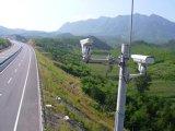二重ビデオ赤外線画像のカメラを監察するハイウェイ