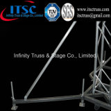 Contributo di alluminio di Ourrigger dello stabilizzatore del fascio a supporto al suolo