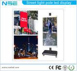 Afficheur LED extérieur de Pôle de rue de SMD P5 pour la publicité