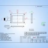 El COG 240*160 puntos el módulo de LCM Pantalla Pantalla LCD