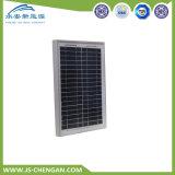 comitato solare del modulo solare policristallino 15W con 4 righe e 25 anni di corso della vita