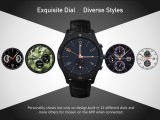 Horloge Bluetooth van de Legering van het zink het Androïde Slimme