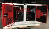 Diesel met geringe geluidssterkte Genset die door Yanmar 22kw wordt aangedreven
