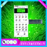 Cutome-Gebildeter LED Backlit Metallabdeckung-Basissteuerpult-Membranschalter