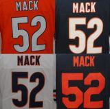 #52 ricamato migliore abitudine Khalil Jersey limitata cucita Mack