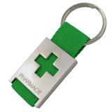 La promotion de cadeaux Cuir Métal PVC Chariot Keyholder Coin/porte-clés/anneau/trousseau de clés/chaîne de clés