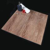 de 600*600mm Verglaasde Porselein Opgepoetste Tegel van de Vloer met Houten het Kijken Ontwerpen