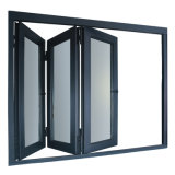 Ventana Toldo de aluminio con doble vidrio templado