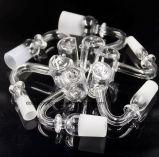 Petite taille l'Auge en verre de quartz Bélanger clou pour tuyau d'eau 10/14/19/mâle/femelle/effacer