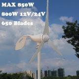 Макс. 850 Вт переменного тока 12V 24V ветровой турбины