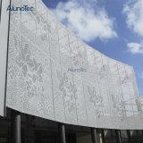 изготовленный на заказ<br/> архитектурные перфорированной металлической панели ПВДФ покрытие