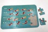 Puzzle di carta personalizzato poco costoso del puzzle