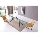 Ajustable moderno las piernas de madera mesa de comedor