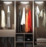 LED de Batería recargable de sensor de movimiento interior / exterior iluminación nocturna para Muebles / Gabinete / vestuario / Showcase