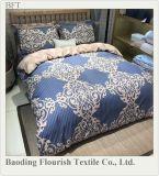 100%年の綿のホーム織物のシーツの慰める人のセットか寝具
