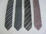 Luz de moda masculina de cores de fios Tingidos Neckwear