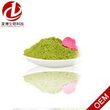 プライベートラベルの有機性Matchaの緑茶の粉との純粋で自然な有機性Matcha