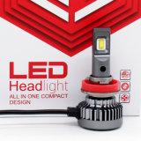 50W 6000lumen LED de tamaño pequeño faro antiniebla H11