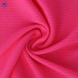 Le spandex polyester Tissu jacquard pour vêtements de sport