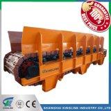 Alimentador de fardo pesado de britagem e fábrica de cimento
