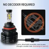 Alto brillo H11 9005 H13 LED X3 3000K 6500K 8000LM alquiler de los faros de xenón