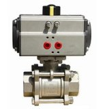 Control de las válvulas de bola de metal personalizados con una buena calidad