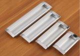 In een nis gezette het Vierkant van de Steen van het Kabinet van de Toebehoren van de keuken trekt de Verborgen Handvatten van het Aluminium