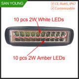 6 pouces LED Barre de feux de conduite