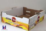 Goedkoop Fruit & Veggie Karton GolfDienblad van de Doos van de Verpakking Verpakkende