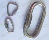 Tipo longo anel rápido Shaped do aço inoxidável da ligação da pera