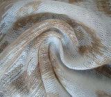 Reines Leinenheidekraut-einzelnes Jersey-Gewebe
