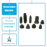 カスタマイズされたシリコーンゴムの製品の予備品のゴム製管の注入型