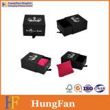 Elegantes Schmucksache-Schmucksache-Halsketten-Ring-Geschenk-verpackenkasten mit Belüftung-Fenster