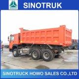 6X4 HOWO autocarro con cassone ribaltabile del ribaltatore dello scaricatore da 30 tonnellate da vendere