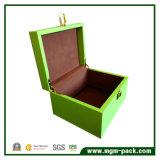 Diseño personalizado de promoción de la caja de almacenamiento de madera