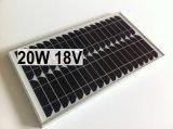Panneau solaire mono 20W pour le système de d'éclairage à la maison