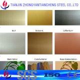 201 304 316 het Kleur Geëtstel Blad van het Roestvrij staal voor Verkoop met pvc in Roestvrij staal
