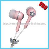 Écouteur attrayant d'écouteur en cristal pour la musique (10A2413J)