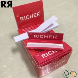 Un papel de cigarrillo más rico de 14 G/M con extremidades de filtros