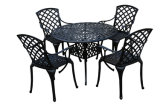 Meubles extérieurs réglés de meubles de patio de fonte d'aluminium