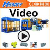 Kleber-Ziegeleimaschine-Gehsteig-Block-Maschine des hydrostatischen Druck-Qt10-15