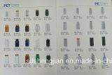 Bottiglia superiore personalizzata della plastica dell'animale domestico riciclata 150ml del livello di colori