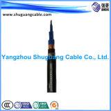 Le PVC a isolé/le câble blindé/par Muti-Core/PVC engainé bande en acier de commande